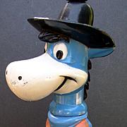 Hanna Barbera Early 1960's Quick Draw McDraw Figural Lamp
