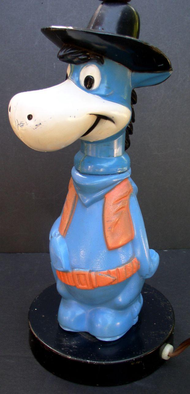 Hanna Barbera Early 1960's Quick Draw McDraw Figural Lamp