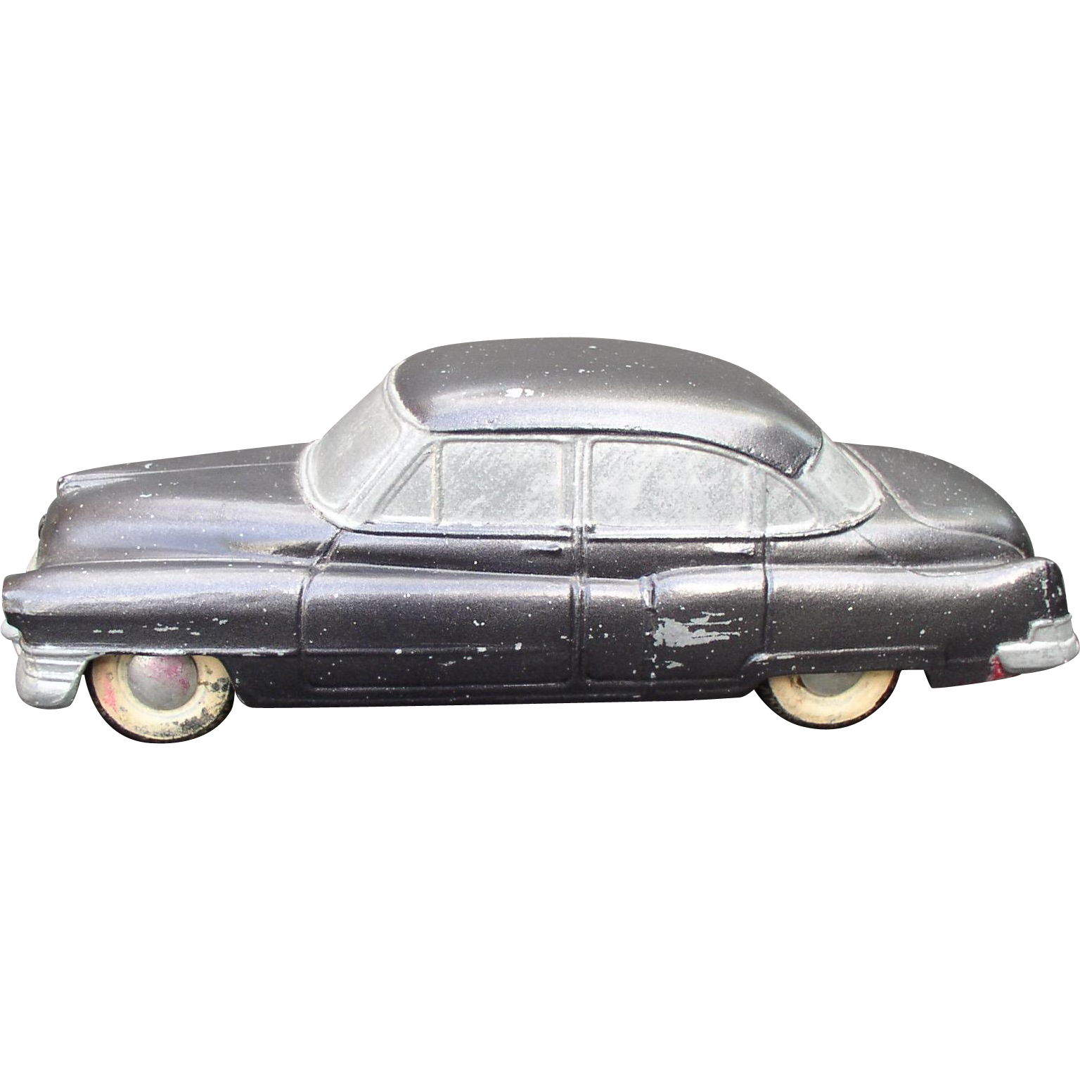 1952 Cadillac Fleetwood BANTHRICO Chicago ILL  Cast Steel Promo Car Bank