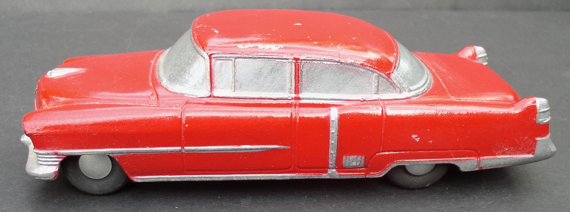 1954 Cadillac Fleetwood BANTHRICO Chicago ILL  Cast Steel Promo Car Bank