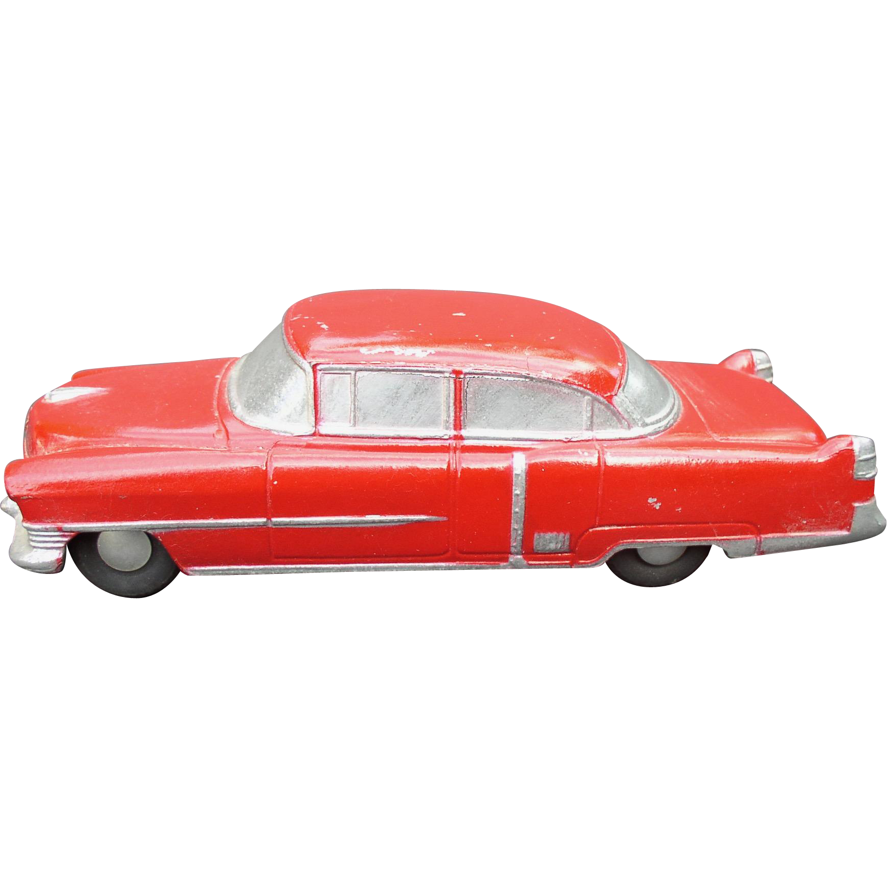 1954 Cadillac Fleetwood BANTHRICO Chicago ILL  Cast Steel Promo Car Bank