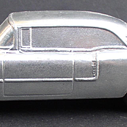 1957 Cadillac Coupe De Ville BANTHRICO Type Chicago ILL  Cast Steel Promo Car Bank