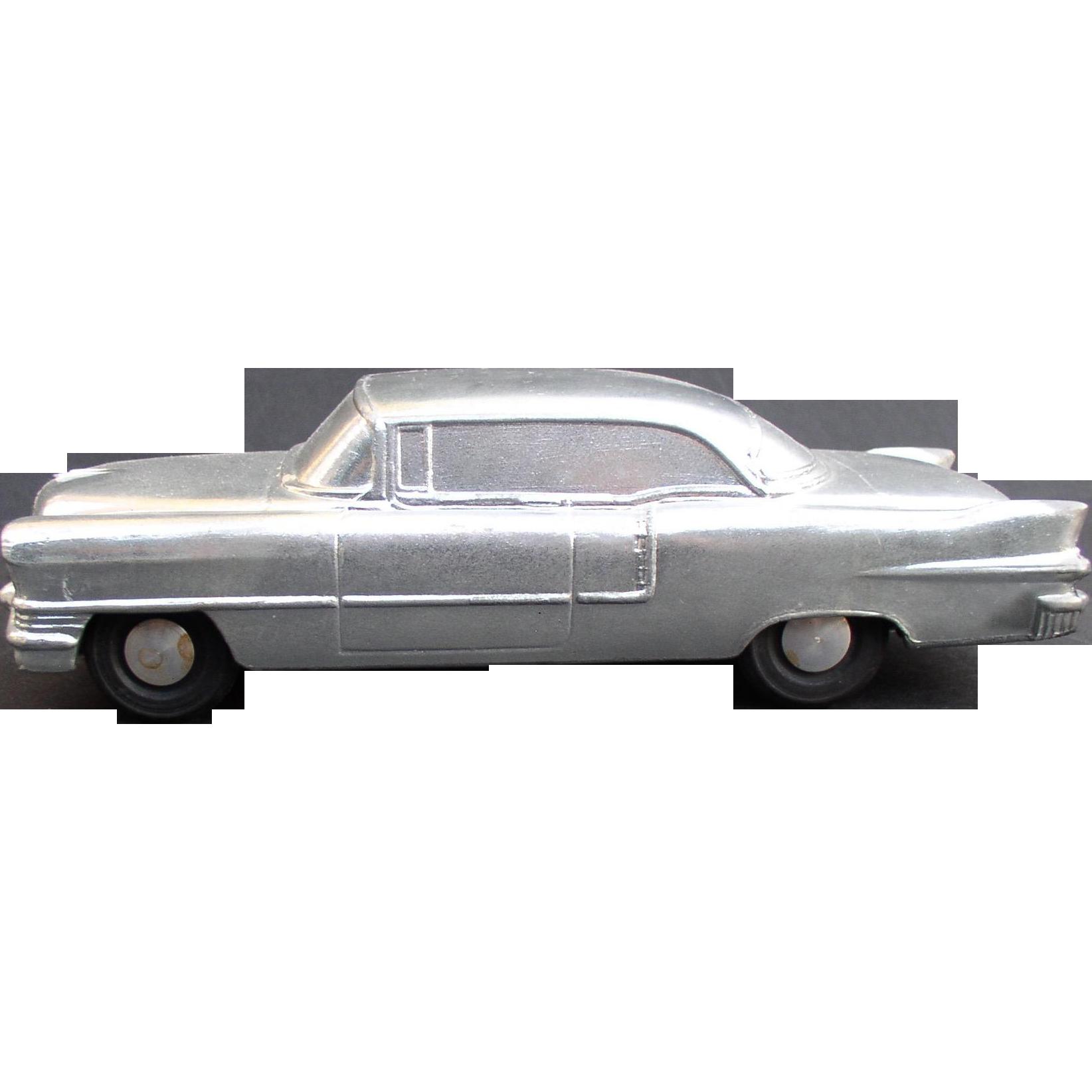 1957 Cadillac Coupe De Ville BANTHRICO Type Chicago ILL  Cast Steel Promo Car Bank