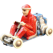 Schuco Micro Racer Go Kart #1035 Wind-up Car Nice and working.