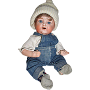 "Early Nippon 12""  Character Boy Baby Doll"