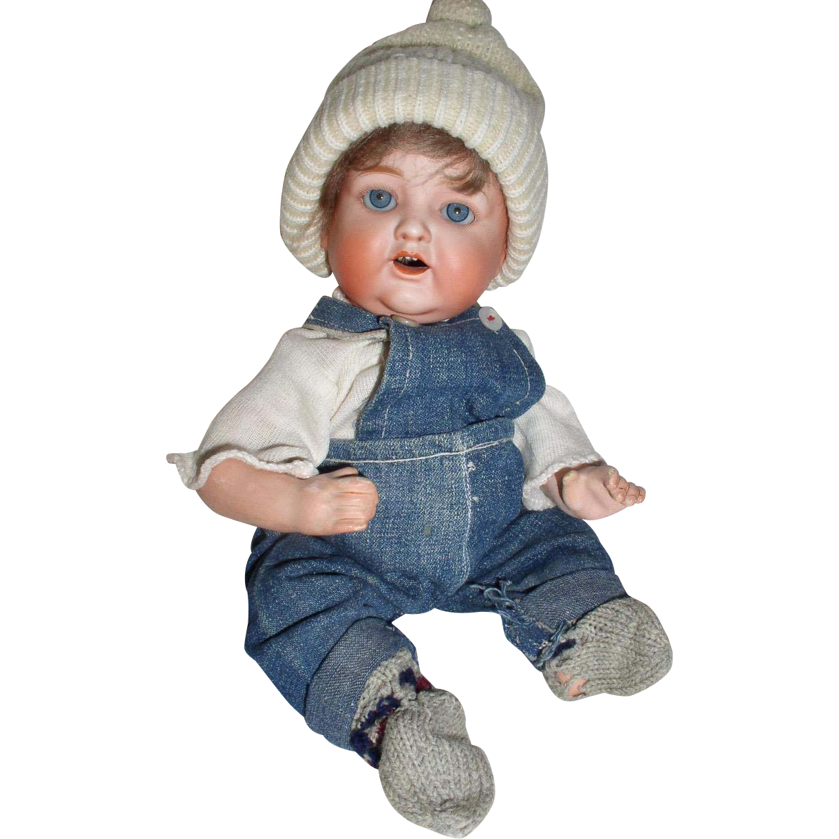 """Early Nippon 12""""  Character Boy Baby Doll"""