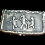 1910 Antique Teeddy Bear Coin Purse