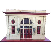Lionel City #115 Post War Standard Gauge Metal Passenger Train Station