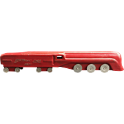 "Toy Train ""Stafford Liner 1006"" 1930's Streamlined Pressed Steel Locomotive"