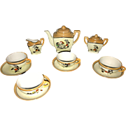 1930's MICKEY MOUSE 11 Piece Tea Set Made in Japan
