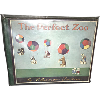 Rare The Perfect Zoo Eleanor Farjeon Steiff Teddy Bear 1929