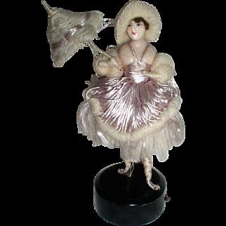 Wonderful Antique Wax Fashion Mannequin Doll