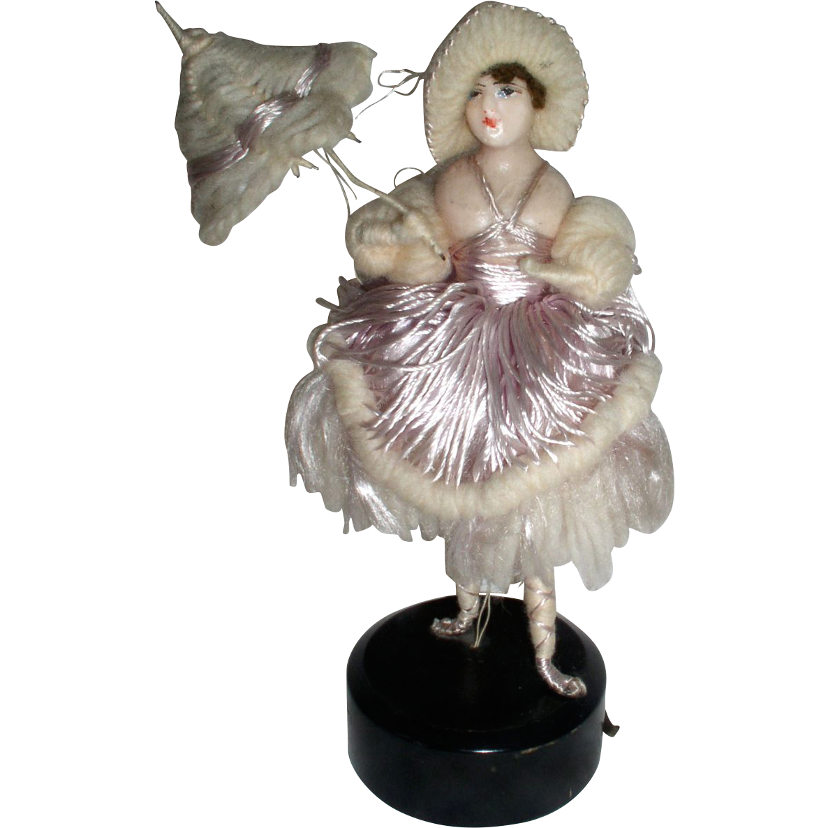 Wonderful Antique Wax Fashion Mannequin Doll From