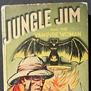 "Jungle Jim ""The Vampire Woman"" 1937 Big Little Book Alex Raymond"