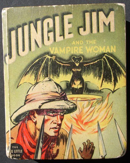 "Jungle Jim ""The Vampire Woman"" 1937 Big Little Book Alex Raymond"