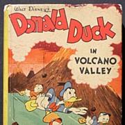 "Donald Duck ""Volcano Valley"" 1949 Big Little Book Carl Barks"