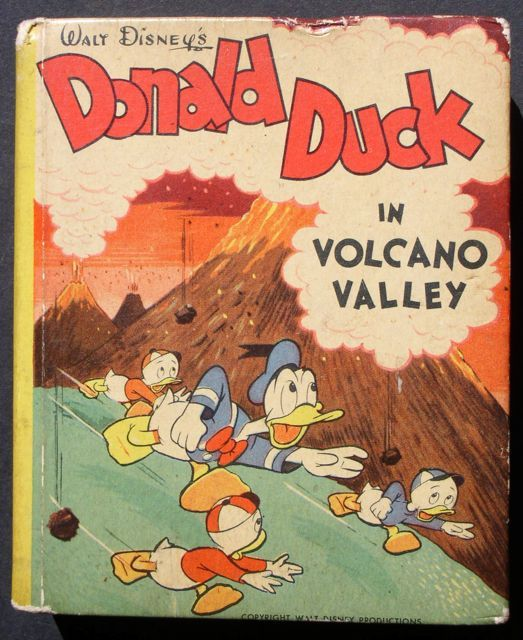 "Donald Duck ""Volcano Valley"" 1949 Big Little Book Carl Barks"