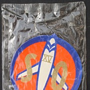 Capt. Midnight 1957 Cloth Patch in Original Package