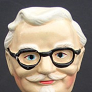 Colonel Sanders 1960s Composition Nodder Bobblehead