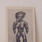 1940's Hawaiian Postcard From The Bishop Museum