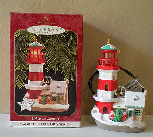 Hallmark Lighthouse Ornament 1997 1st in series