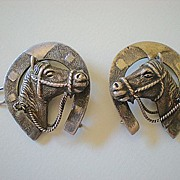 Vintage Western 2 Piece Bridle Decoration