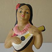 Vintage Hawaiian Hula Girl Souvenir Nodder Bobber