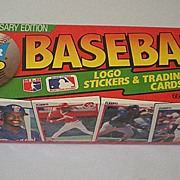 Complete 1990 Fleer Baseball Card Set Factory Sealed
