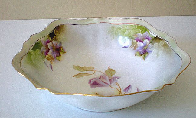 Gorgeous Early 1900's Serving Bowl RS Germany Mark