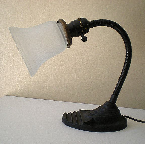 - Vintage Eagle Goose Neck Desk Lamp : California Girls Ruby Lane