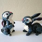 Disney's Thumper Kreiss & Co. Salt & Pepper Figurines