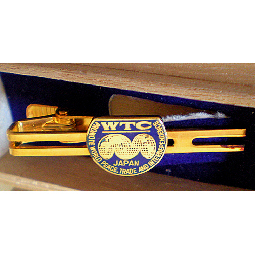 1970's Tie Clip Japan World Trade Center