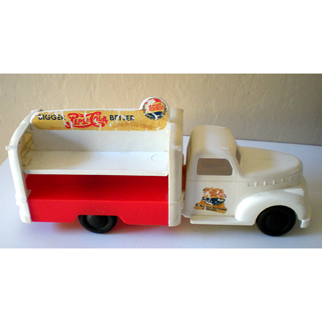 1940's Marx Pepsi Cola Toy Delivery Truck