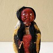 Figural Skookum Doll Tape Measure