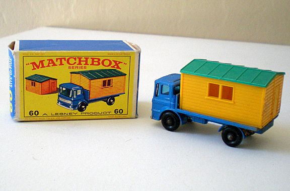 Matchbox Lesney Truck with Site Office #60 With Original Box