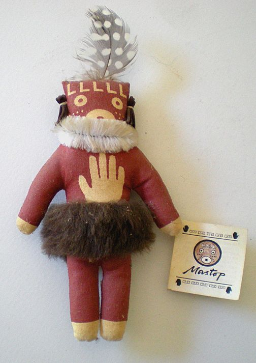 Hopi Kochina Doll Mastop