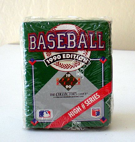 1990 Upper Deck HIGH # Series Factory Seal Complete Set