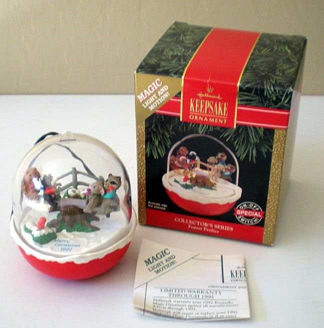 Hallmark Ornament Forest Frolics Magic Light & Motion