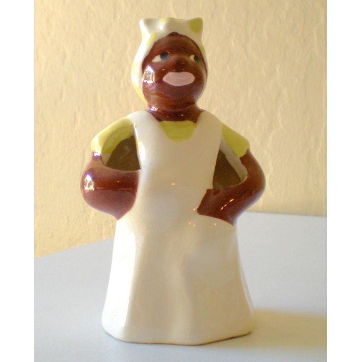 Vintage Black Americana Mammy Toothbrush Holder
