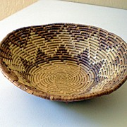 Small Vintage Hand Made Basket
