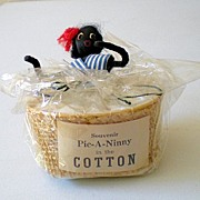 "Black Americana Souvenir ""Pick~A~Ninny In The Cotton"""
