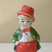Old Bisque Frozen Doll Dapper Gentleman