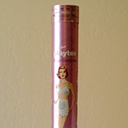 Large 1959 Playtex Girdle Cardboard Tube