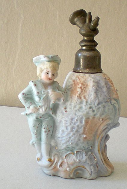 Gorgeous Vintage Figural Perfume Bottle Germany