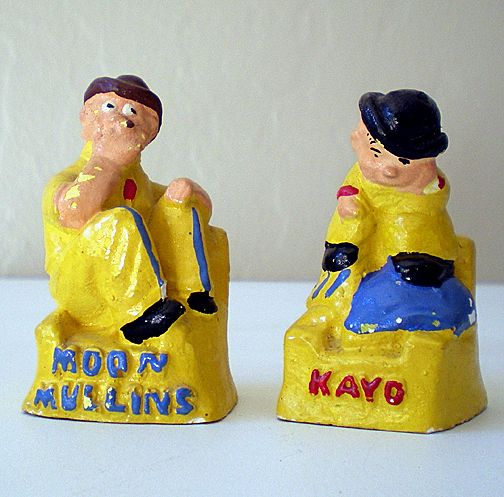 Moon Mullins & Kayo Chalk Figures