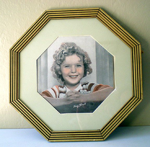1930's Shirley Temple Photograph Great Frame