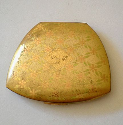 1950's Elgin Ladies Face Powder Compact