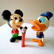 (2) 1976 Disney Character Talking Chatter Chum Toys & Bonus