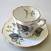 Vintage Rosina Teacup and Saucer