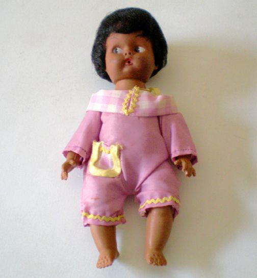 1970's Black Americana Baby Doll